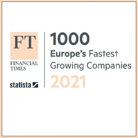 FT Europes Fastest Growing Company 2021