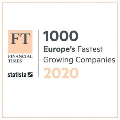Financial Times Europe's Top 1000 Growth Companies..