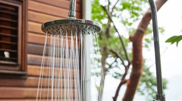Secret Bay Dominica Outdoor Shower