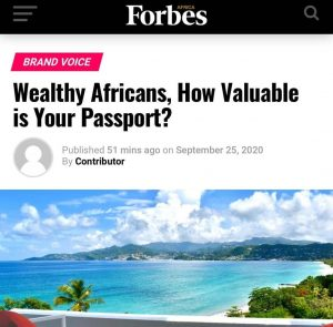 Wealthy Africans, How Valuable is Your Passport